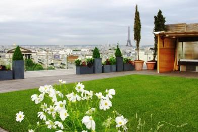 Création en pelouse artificielle : Aspect Naturel