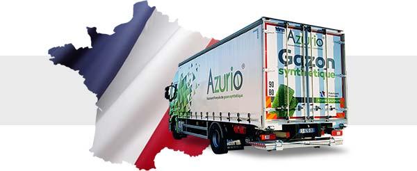 Livraison direct usine en France