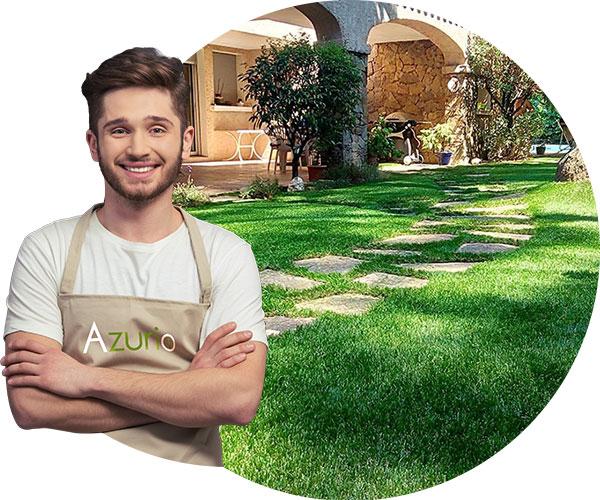 Pose de votre pelouse artificielle à var