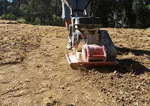 Compacter et niveler sans apport de sable 4