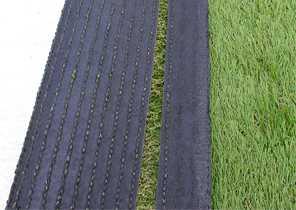 Émargement de la lisière d'une pelouse synthétique 2