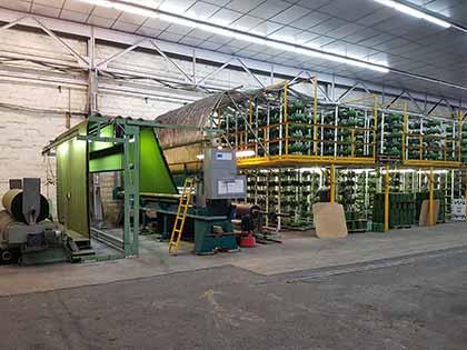 Usine Azurio, fabrication de gazon synthétique