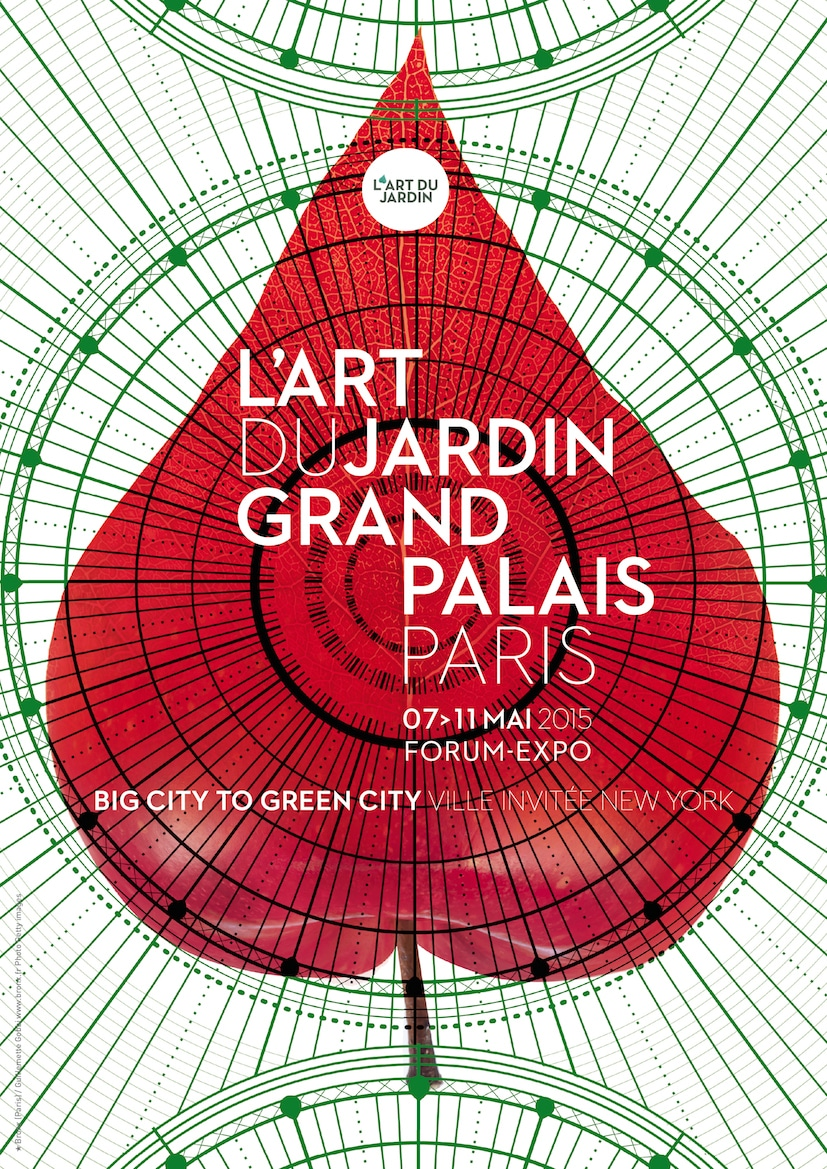 Illustration de L'Art du Jardin 2015 au Grand Palais