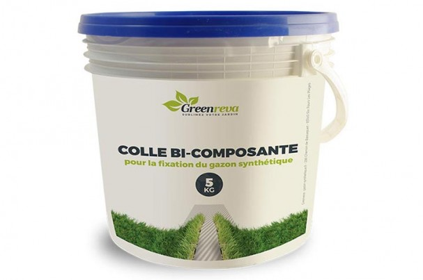 Colle bi-composante en pot
