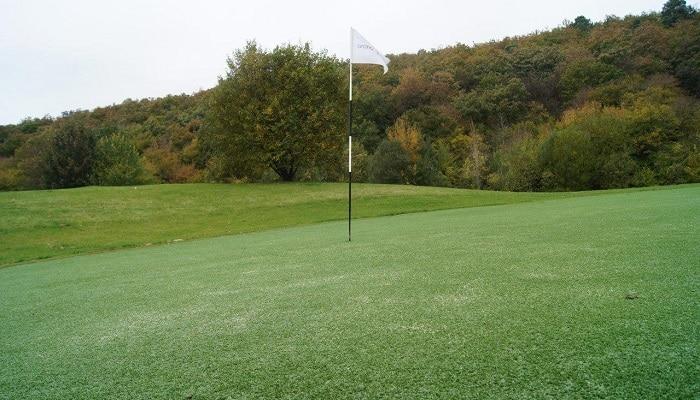 Illustration de Golf et gazon
