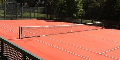 Illustration de Normes court de tennis en gazon artificiel