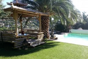 Création en pelouse artificielle : Achat et pose de pelouse artificielle à Arles