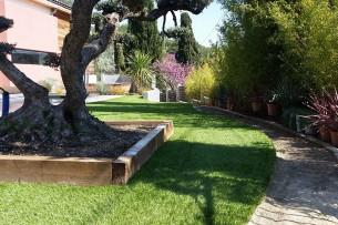 Création en pelouse artificielle : Achat et pose de gazon synthétique à Marseille