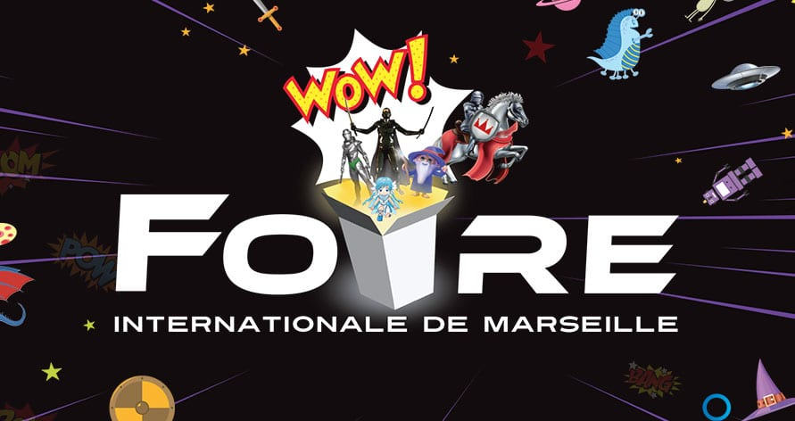 Illustration de Azurio à la Foire de Marseille 2017 !