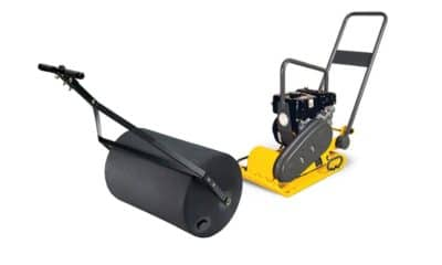 rouleau : accessoire pour pelouse artificielle