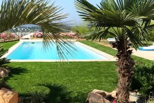 Création en pelouse artificielle : Poser, acheter un gazon artificiel à Sète
