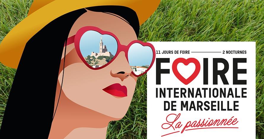 Illustration de Azurio à la Foire Internationale de Marseille 2018