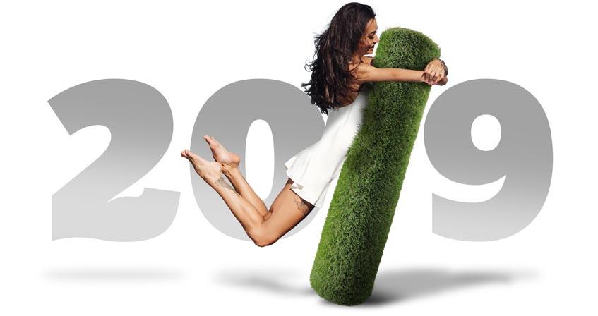 Illustration de Bonne année 2019 !
