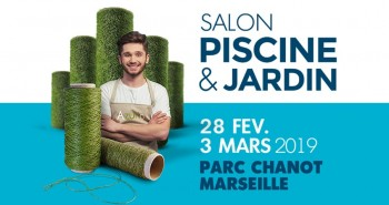Illustration de Salon Piscine & Jardin à partir du 28 Fevrier !