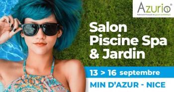Illustration de Salon Piscine Spa & Jardin avec Azurio!