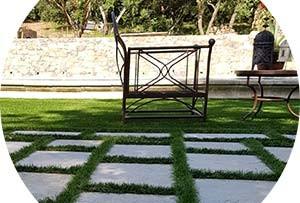 Création en pelouse artificielle : Gazon synthétique Avignon
