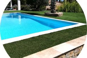 Création en pelouse artificielle : Achat et pose de gazon synthétique à Nîmes